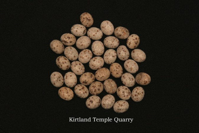 Temple stones from the LDS Kirkland Temple by Nauvoo Remembered jewelry