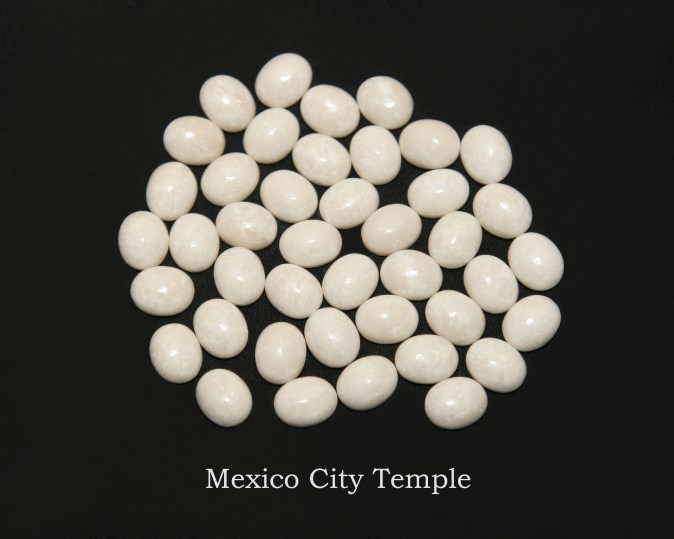 Temple stones from the LDS Mexico City Temple by Nauvoo Remembered jewelry