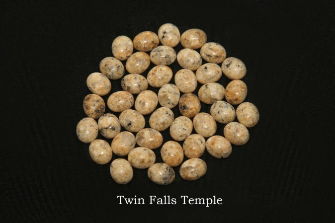 Temple stones from the LDS Twin Falls Temple by Nauvoo Remembered jewelry
