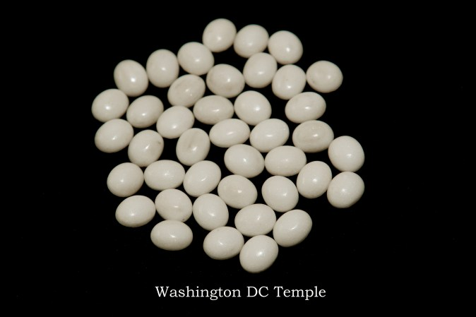 Temple stones from the LDS Washington D.C. Temple by Nauvoo Remembered jewelry