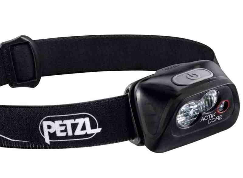 פנס הראש הטוב ביותר: Petzl Actik Core