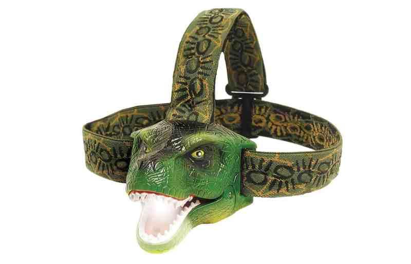 פנס ראש לילדים שאוהבים דינוזאורים