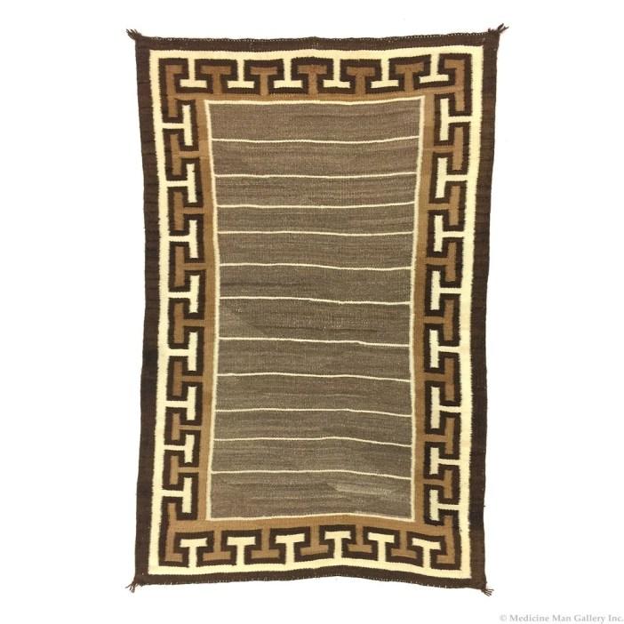 Navajo Double Saddle Blanket c1900
