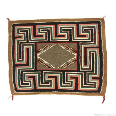 Navajo Teec Nos Pos Single Sunday Saddle Blanket
