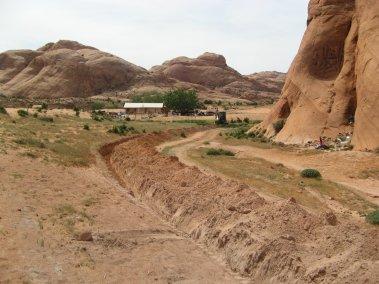 Jayi spring development trench