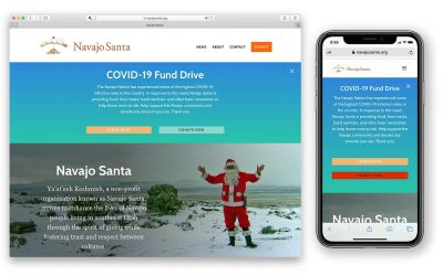 New Navajo Santa Website