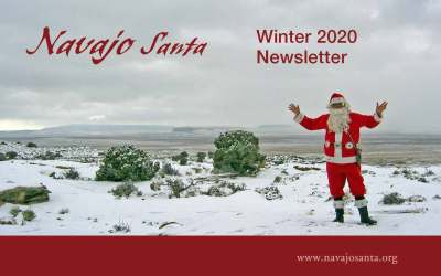 New Navajo Santa Newsletter (Winter 2020)