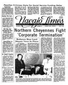 Old front page of Times newspaper