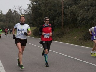 Agustín Uruburu debutó con el CD Navalmaratón en la XII edición de la Media Maratón Latina