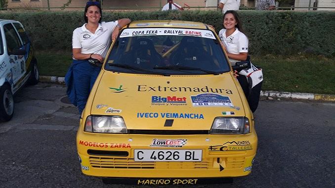 Cuarto puesto para Ainoa de la Osa y Mari Márquez en el V Rallye de Extremadura Histórico