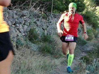 """Francisco David Oliver Capitán participó en la IV Carrera de Montaña La Garganta """"Techo de Extremadura"""""""
