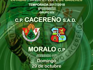 Previa Cacereño vs Moralo CP