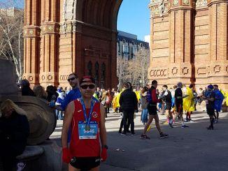 José Sánchez Marcos disputó su segunda edreams Mitjá Marató de Barcelona