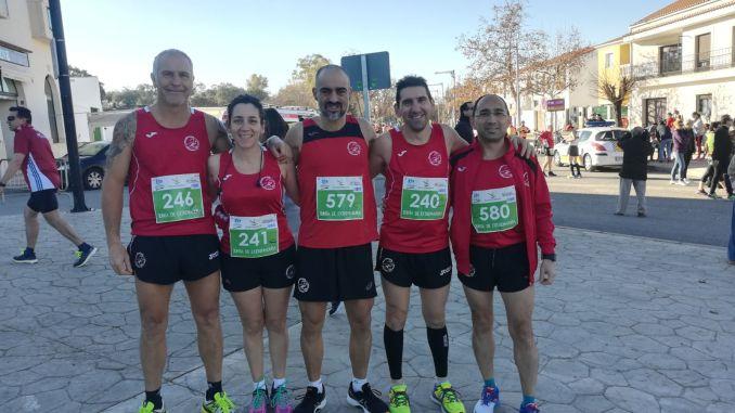 Navalmaratón en la VII Media Maratón de Los Barruecos