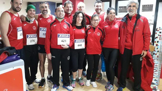 Navalmaratón participó en la VI Media Maratón Ciudad de Plasencia