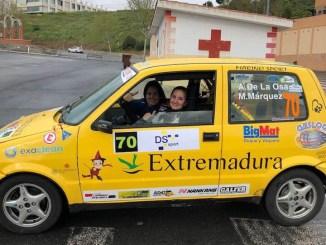 Cuarta posición para Ainoa de la Osa y Mari Carmen Márquez en el XXXIII Rallye Norte de Extremadura