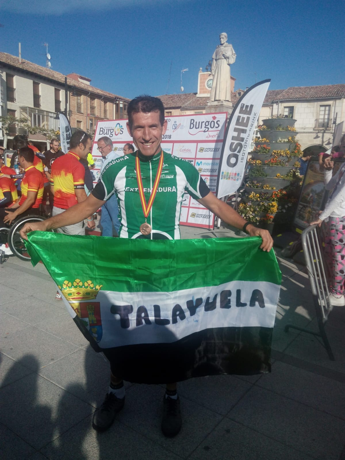 Bronce para Ramón González Melo (Monchi) en la Contrarreloj del Campeonato de España de Ciclismo Adaptado en Villadiego (2)