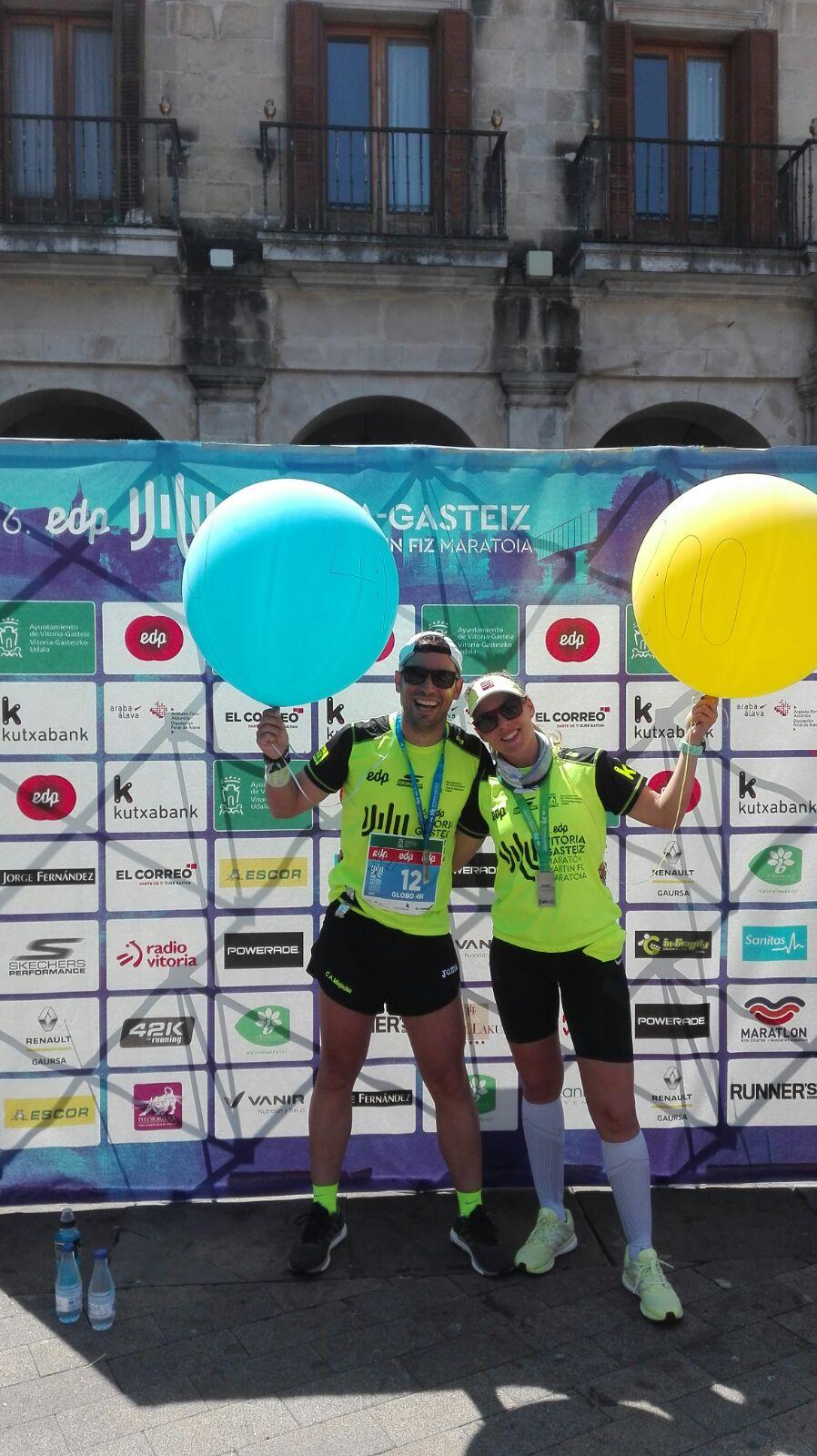 Navalmaraton estuvo en la XVI Edición de la EDP Vitoria Gasteiz Maratón y Media Maratón Martín Fiz