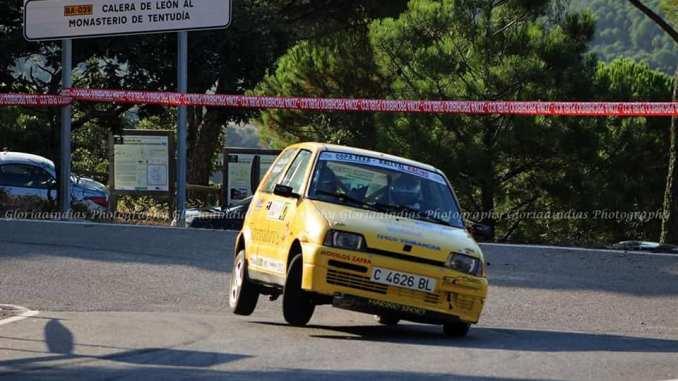 Cuarta posición en la Copa FEXA-RallyAl para Ainoa de la Osa y Mari Márquez en el Rallye de la Vendimia