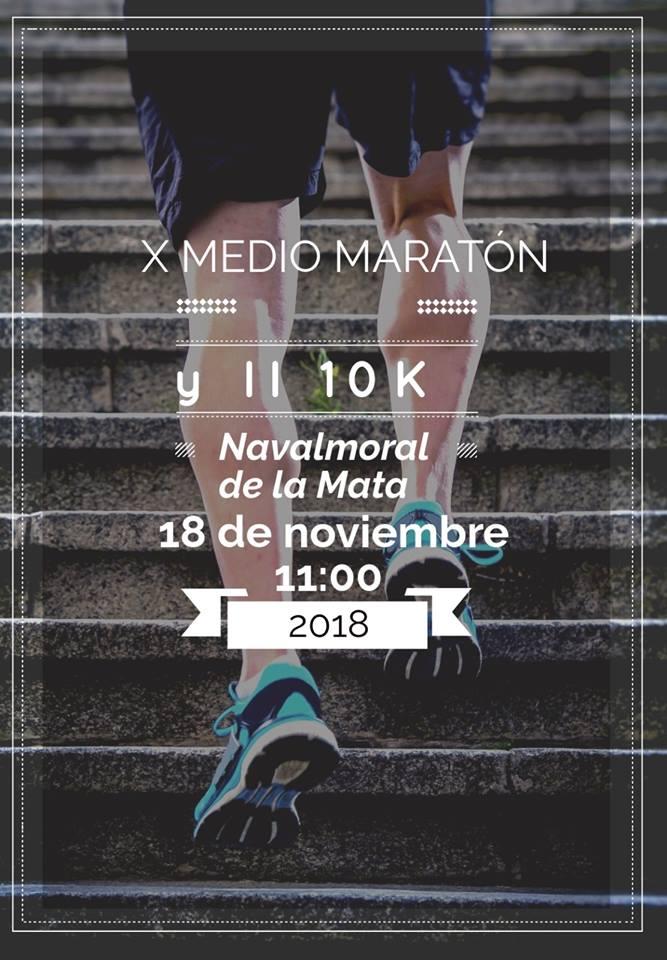 Abierto el plazo de inscripciones del X Medio Maratón y II Diez Mil de Navalmoral de la Mata