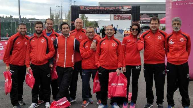 Navalmaratón compite en la Media Maratón Talavera de la Reina y en la Maratón de Burgos