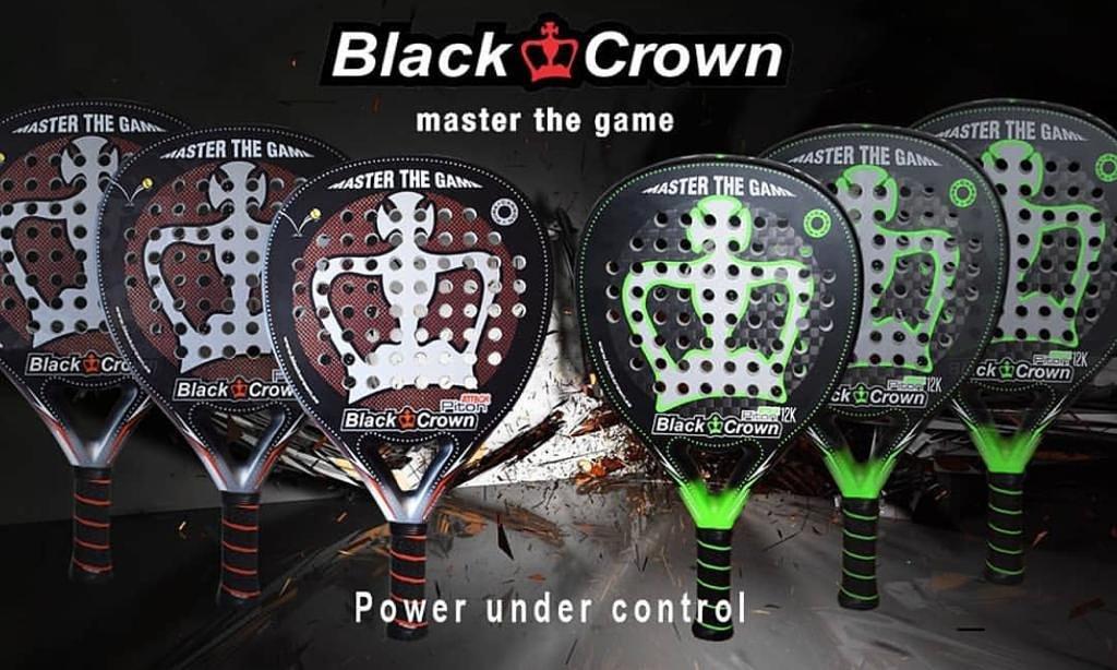 Tito Allemandi Black Crown Padel