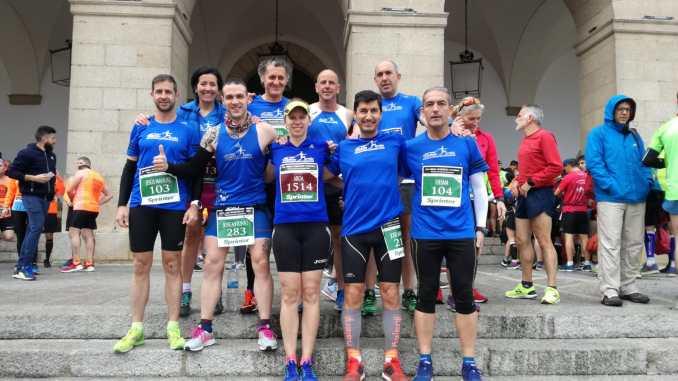 Fondistas Moralos estuvo presente en la XIII Media Maratón de Cáceres