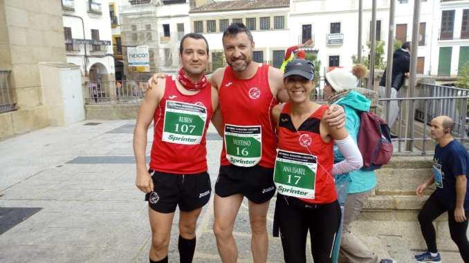 Navalmaratón disputó carreras en Cáceres y Madrid
