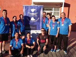 Excelentes resultados de ADA Navalmoral en el VII Campeonato de Extremadura Open Máster