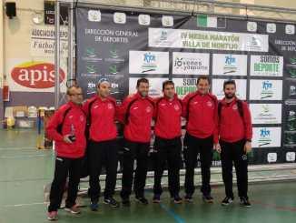 Doble cita deportiva del C.D. Navalmaratón en Sevilla y Montijo