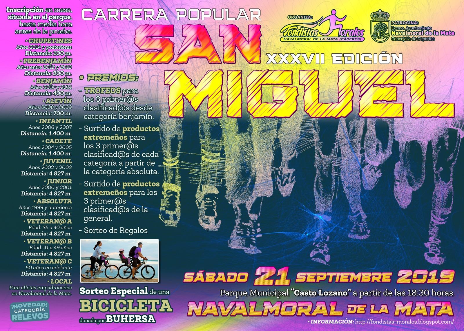 Carrera popular San Miguel 2019