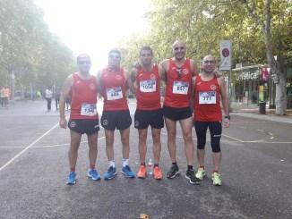 C.D. Navalmaraton participó en la XXXI Media Maratón de Valladolid