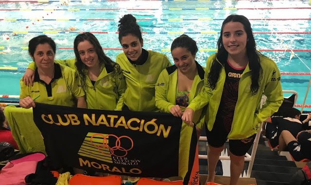 Gran actuación el Club Natación Moralo en el XXX Campeonato de Extremadura Absoluto