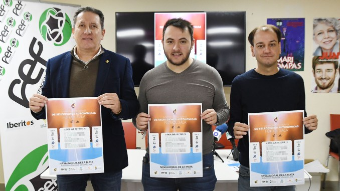 Navalmoral recibe el mejor fútbol sala juvenil y cadete