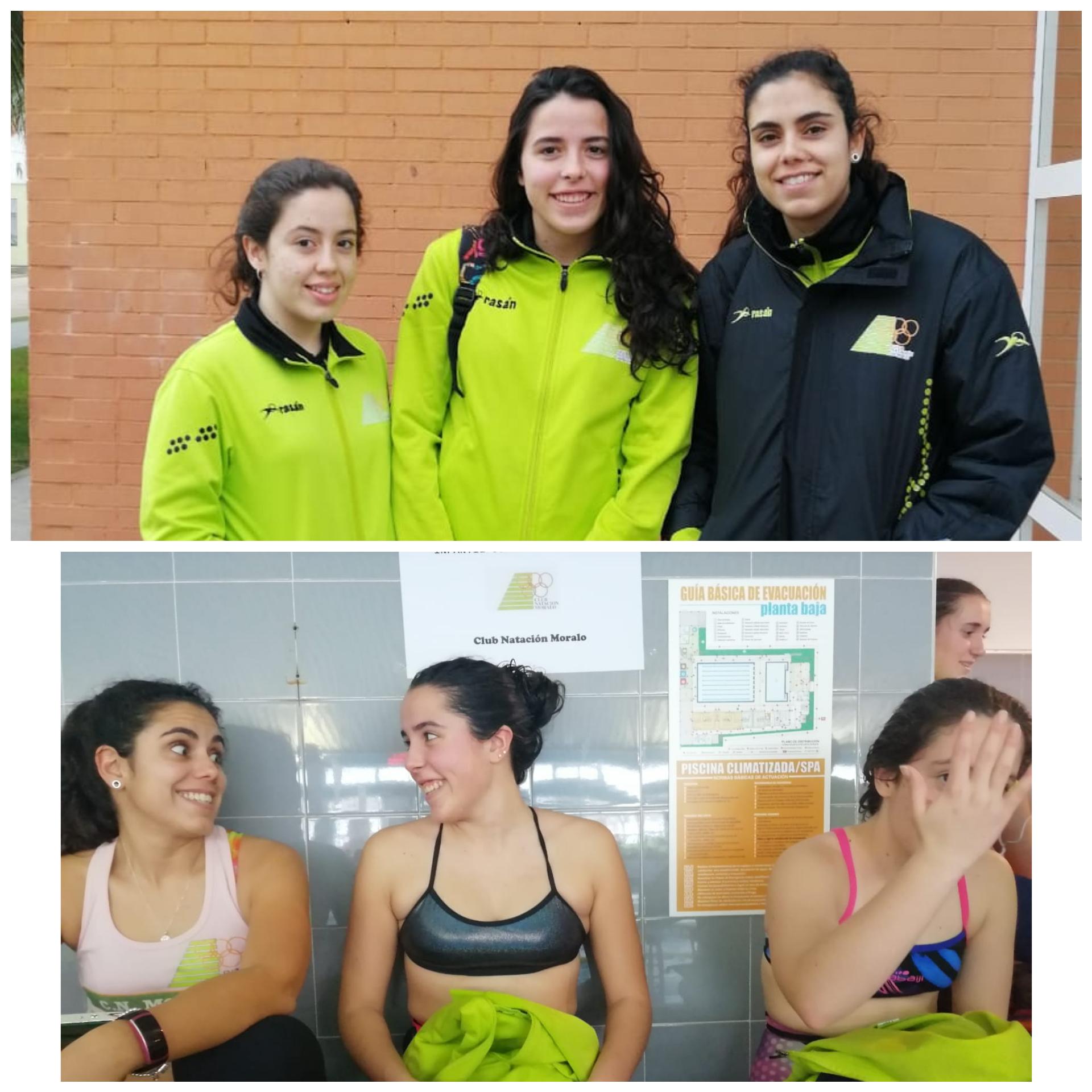 Sara Nieto y Carmen Domínguez en el CTO. de Extremadura Infantil y Junior