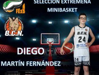 Diego Selección Minibasket