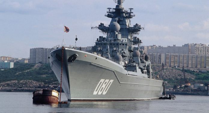 Admiral Nakhimov nuclear powered heavy missile cruiser