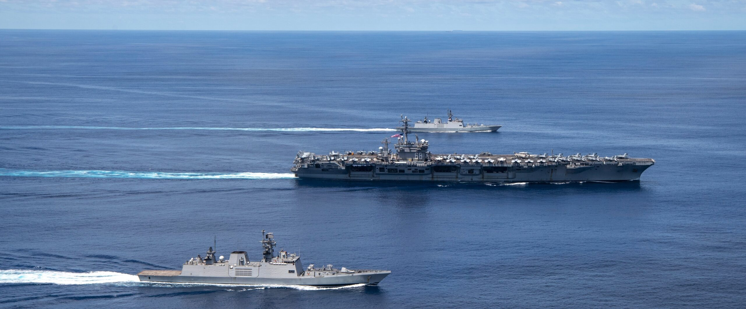 Nimitz Strike Group Participates in Cooperative Exercises with Indian Navy  - Naval News