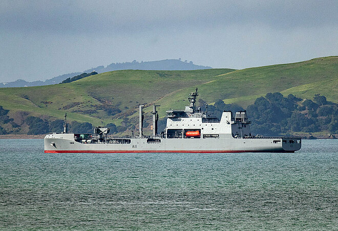 Hensoldt equipped HMNZS Aotearoa with Naval Bridge System