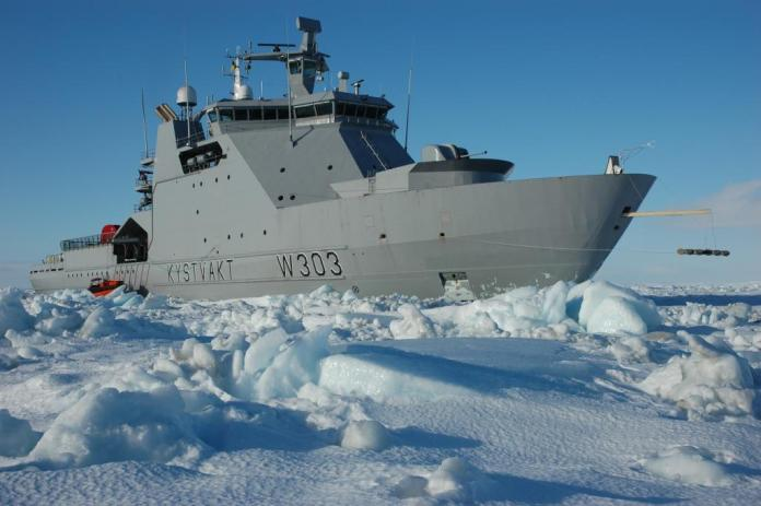 kv svalbard barents sea - naval post- naval news and information