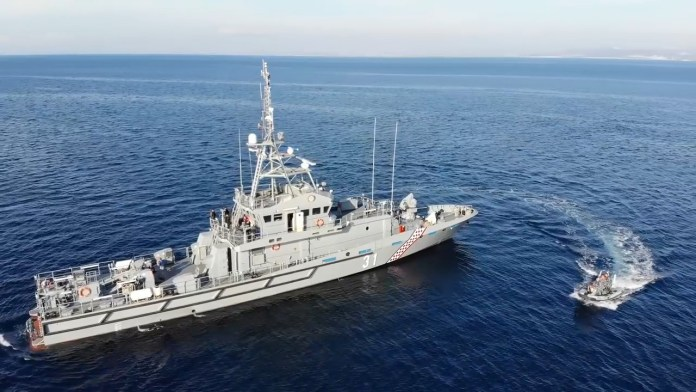 croatian navy received omis oob 31 inshore patrol boat 1 - naval post- naval news and information