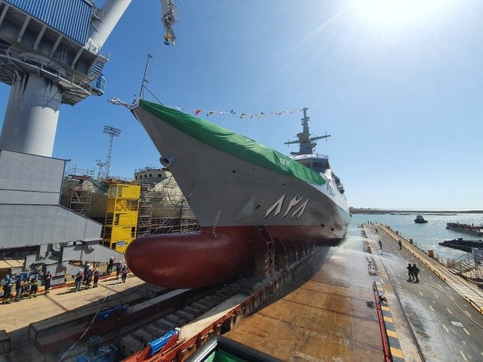 al jubail corvette 1 - naval post- naval news and information