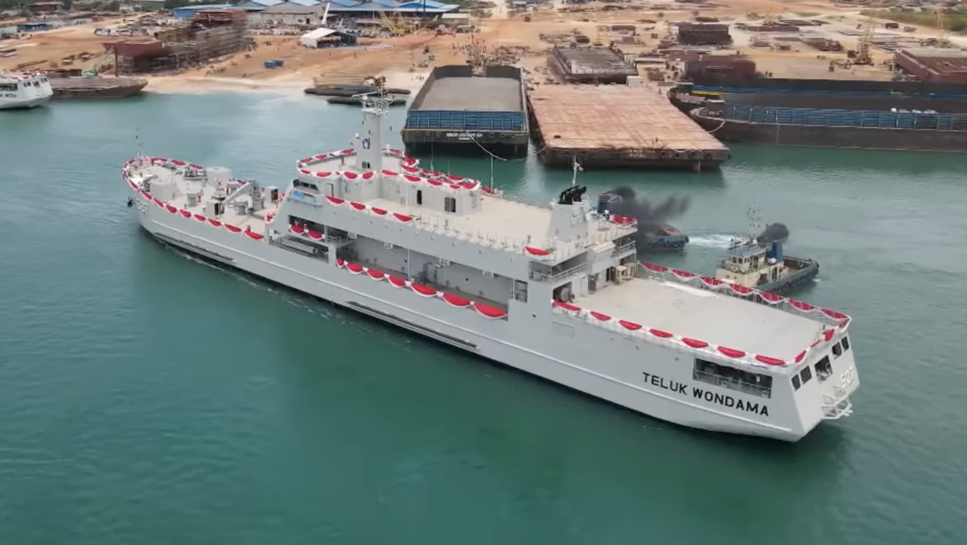 Teluk Bintuni Class LST - Naval Post