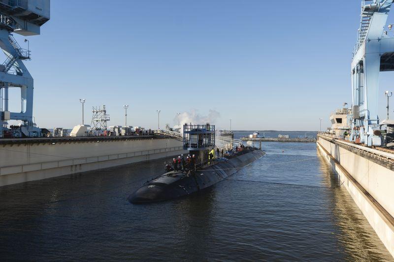 USS Montana SSN 794 - Naval Post