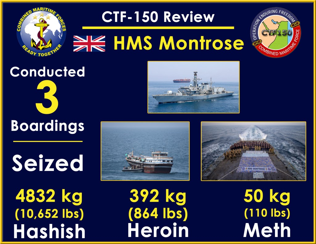 ctf 150 uk seizures - naval post