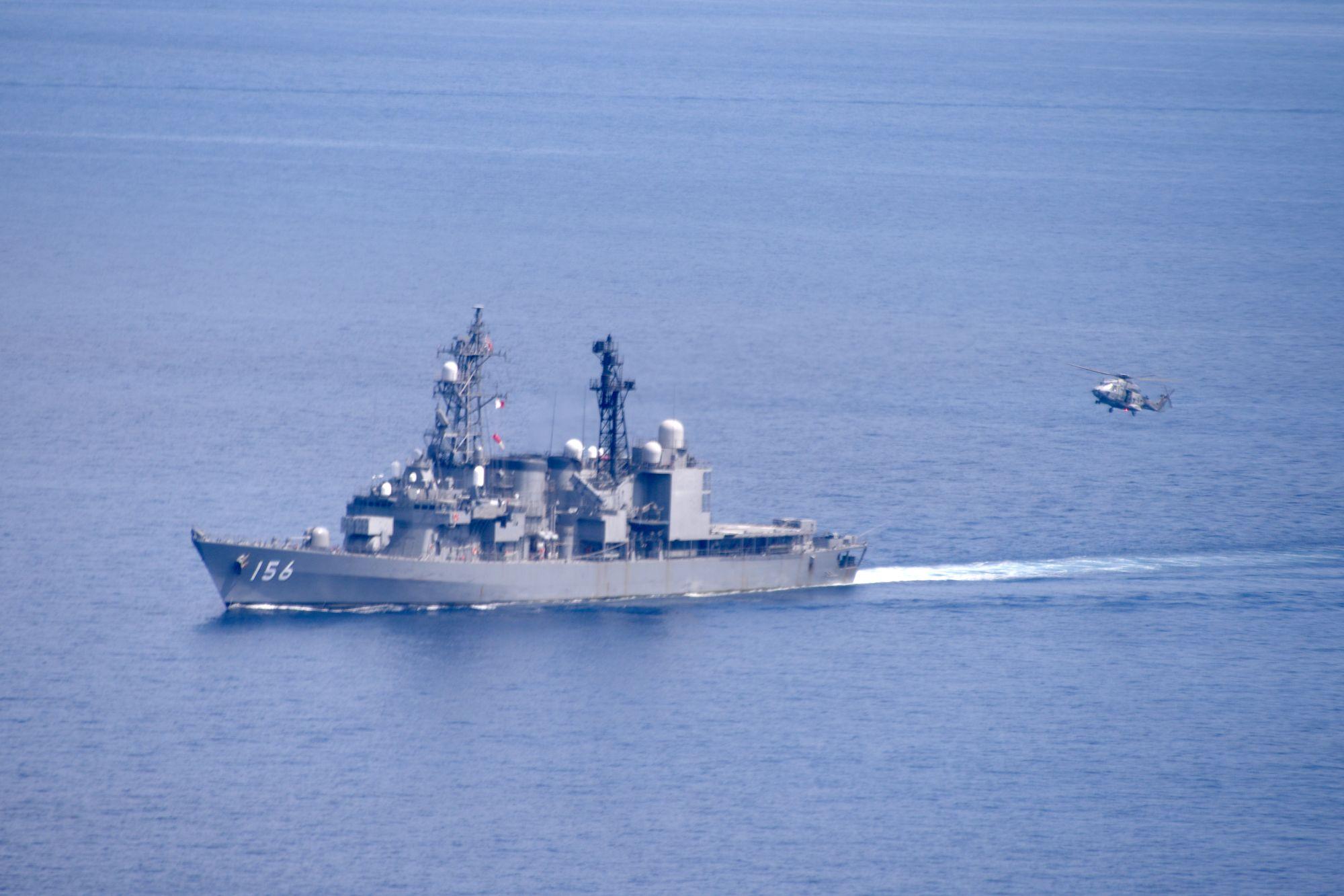 eu japan djibouti exercise 2 - naval post- naval news and information