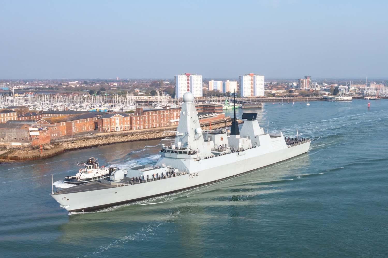 hms diamond - naval post- naval news and information