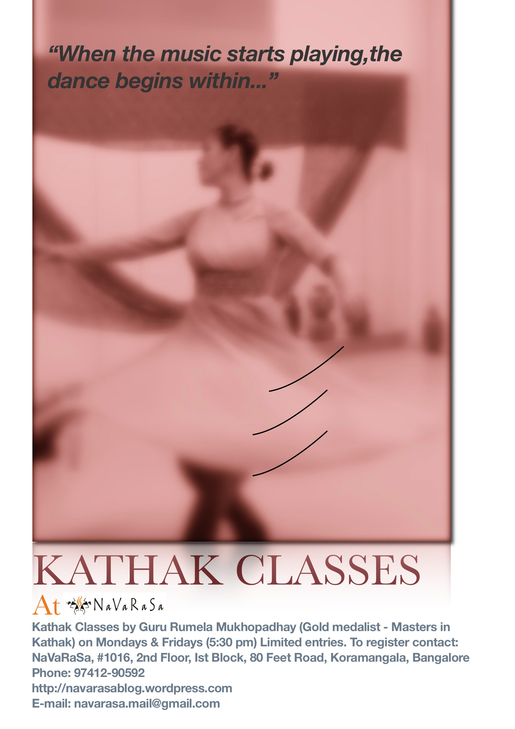 Kathak poster