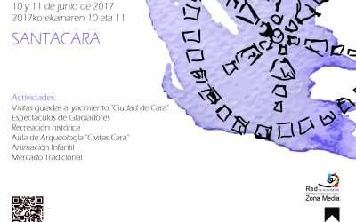 EL SÁBADO COMIENZA EN SANTACARA LAS JORNADAS DEL X DÍA DE CARA, CIUDAD ROMANA