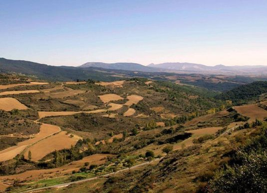 Zona media desde Guirguillano(octubre 2006)